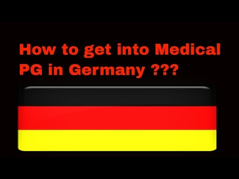 Video Steps for Medical PG in Germany