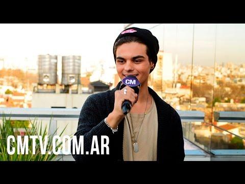 Abraham Mateo video Entrevista Argentina - CM 2016