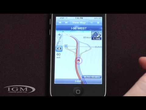 Review: G-Map Turn by Turn GPS App for iPhone 3G and 3GS