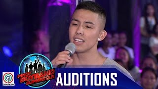 "Pinoy Boyband Superstar Judges' Auditions: Tony Labrusca - ""You And Me"""