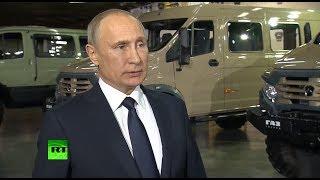 Путин объявил о полной победе над террористами ИГ на берегах Евфрата в Сирии