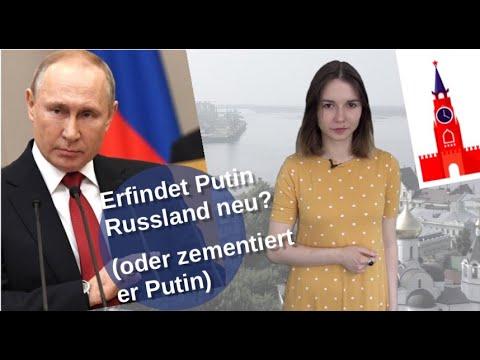 Erfindet Putin Russland neu? (oder zementiert er Putin) [Video]