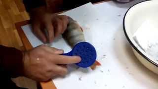 Рыбочистка luxfish мечта рыболова формопласт