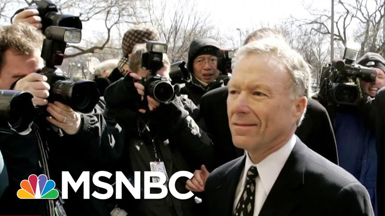 President Donald Trump Pardons Scooter Libby In CIA Leak Case | MSNBC thumbnail