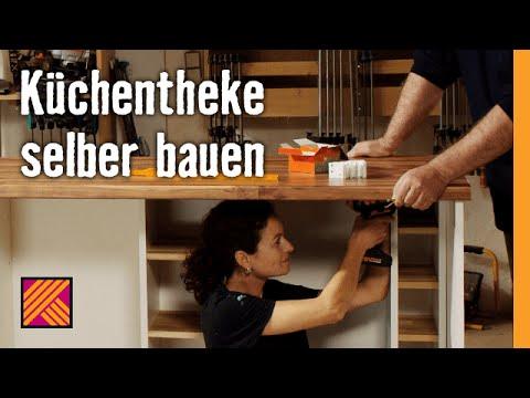 Küchentheke selber bauen | HORNBACH Möbelbau