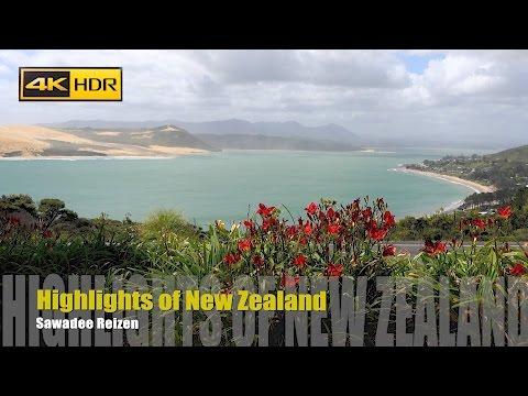 Video-impressie Nieuw-Zeeland rondreis Sawadee