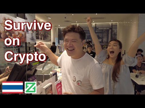 We tried to SURVIVE on CRYPTO in Thailand (Zcoin)