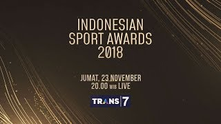 LIVE STREAMING Indonesian Sport Award 2018