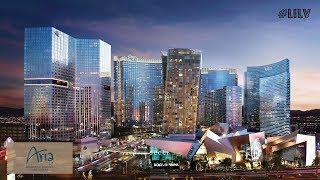 Walking Thru Aria   Las Vegas