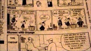 Newspaper Comic Strips - The Start Of Comic Books