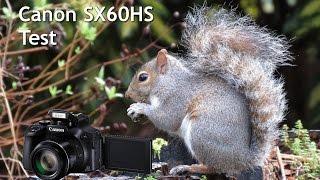 Canon Powershot SX60HS Test