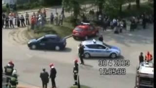preview picture of video 'WYPADEK MASOWY 2009 CZ. 4 - Kazimierza Wielka'