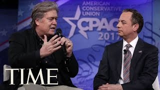 President Trump Aides Reince Priebus & Steve Bannon Say They