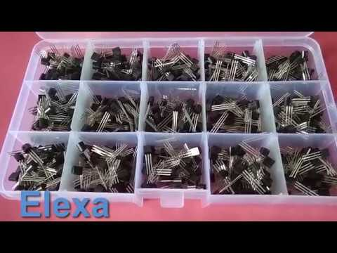 600Pcs TO 92 NPN PNP Bipolar Transistor 15 Value Assortment Kit Banggood Review