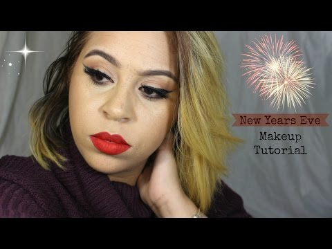New Years Eve Classic Makeup Tutorial