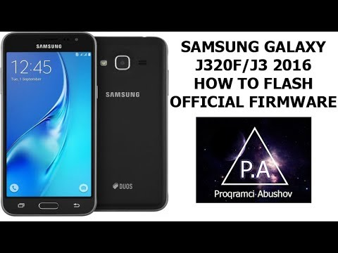 Samsung Galaxy J3 2016/J320F How to Flash/Global official