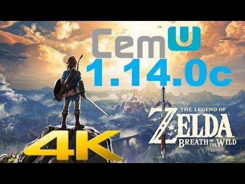 Zelda: Breath of the Wild in Kakariko Village (4K Bench) - CEMU 1 14