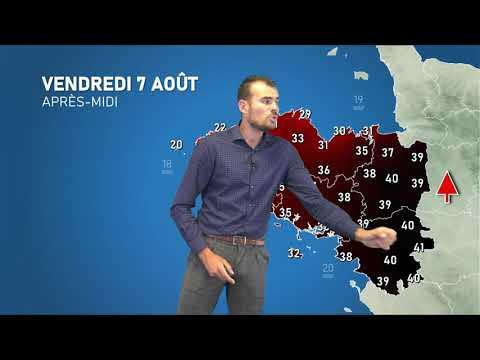 Illustration de l'actualité Vague de chaleur : le point avec notre prévisionniste Stéven TUAL