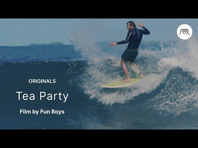 """Tea Party por los """"chicos divertidos"""""""