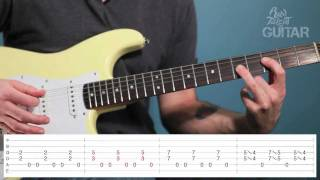 Learn How To Play Somebody Save Me by Cinderella on Guitar (Lesson Video)