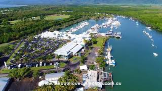 Arial View of Port Douglas Marina