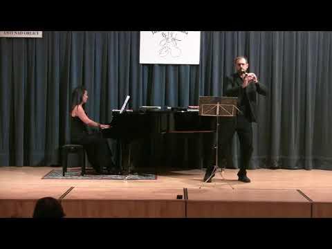 Ulrich Staeps. Sonata for recorder & piano in C Minor  DUO MATTEOLI - SENZACQUA