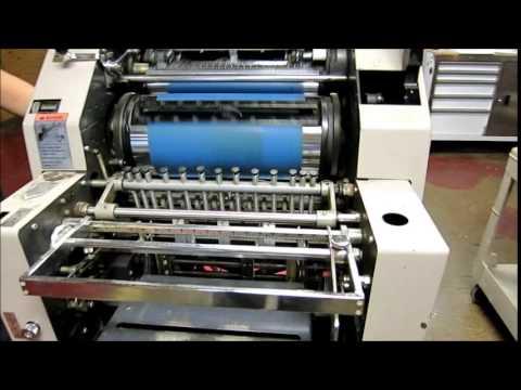 Ryobi 3200MCD Single Color Offset Printing Press