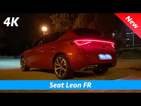 Seat Leon FR 2020 - Quick look in 4K | Interior - Exterior (Day - Night), loud exhaust sound!