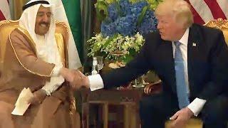 Trump Praises Kuwait For Buying US Military Equipment