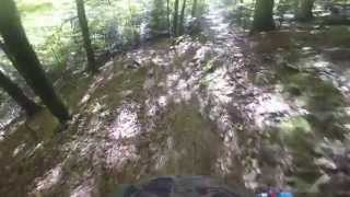 preview picture of video 'Pforzheim - Erzkopf Trail first try'