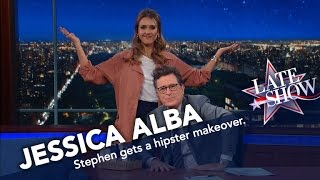 Download Youtube: Jessica Alba Turns Stephen Into a Hipster Millennial