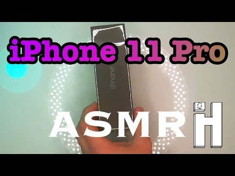 Henry's ASMR iPhone 11 Pro Unboxing (No Background Track)