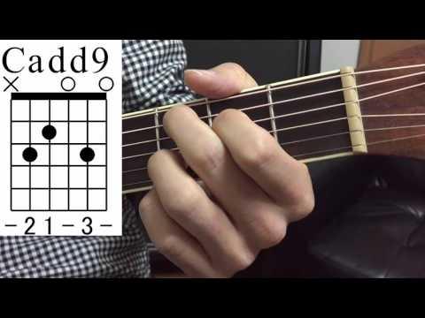 ギターコードCsus4(サスフォー)/C7sus4(セブンスサスフォー)/C6(シックス)/ Cadd9(アドナインス)/Cdim(ディミニッシュ)/Caug(オーギュメント)覚え方と弾き方