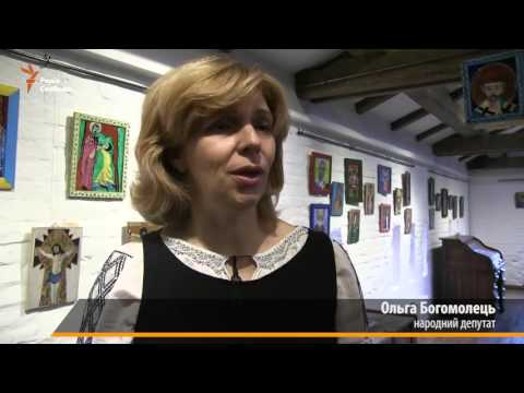 У замку-музеї «Радомисль» відкрилась виставка «Я захищав свій світ» ветеранів АТО. - YouTube