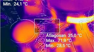 Espresso Shot Thermal Video