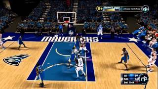 NBA 2K12 My Player: SemiFinals - Game 5 | I Tried To Dunk on Everybody!