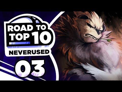 Pokemon Showdown Road to Top Ten: Pokemon Ultra Sun & Moon NU w/ PokeaimMD #3