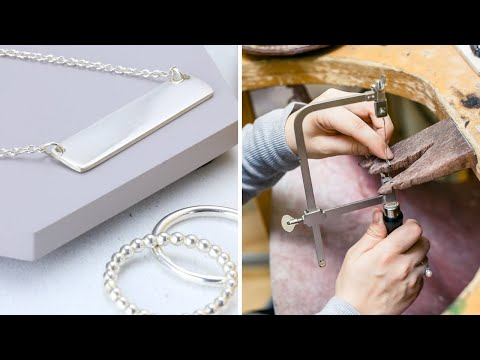 How to Make Silver Jewelry - Part 1 (Jewellery Making)