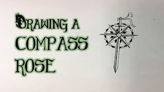 Drawing A Compass Rose