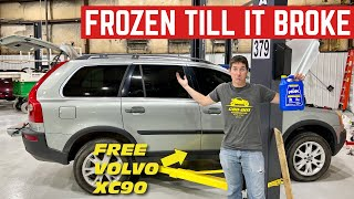 FROZEN TO DEATH: My FREE Volvo XC90 Was Filled With WATER And Left Outside