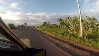 preview picture of video 'Heading to Banjul International Airport - The Gambia'