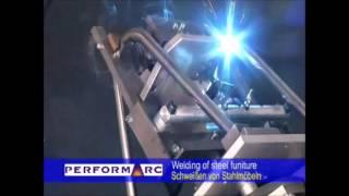 Solda Robotizada - soldagem em cadeira