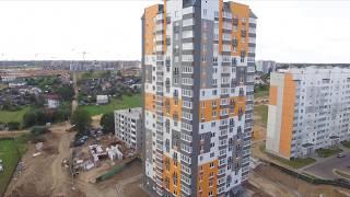 Ход строительства 33 и 35 дома от 20.08.2018