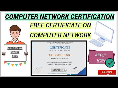COMPUTER NETWORK FREE CERTIFICATE || VERIFIED ...