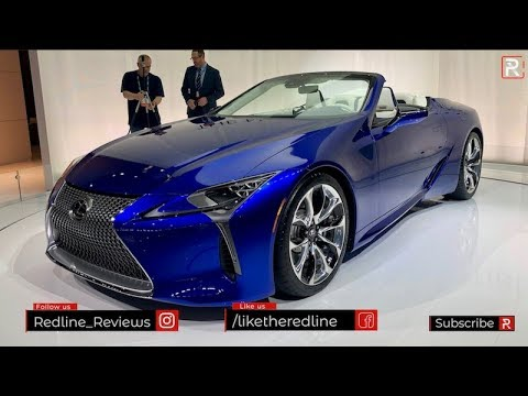 2021 Lexus LC500 Convertible – Redline: First Look – 2019 LA Auto Show