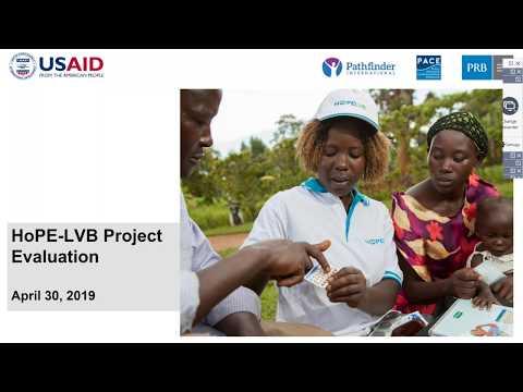 HoPE LVB Project Evaluation Webinar 2019 04 30 09 02 Video thumbnail