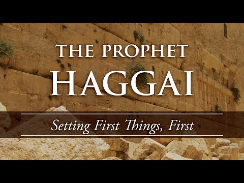 Setting First Things First (Haggai 1:1-15) - Kingdom Builders pt.1