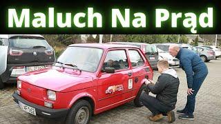 Fiat 126 na baterie litową 11kWh