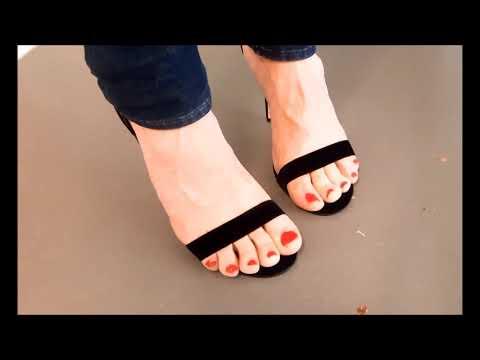 Samt High Heel Sandalette 12,5cm Stiletto