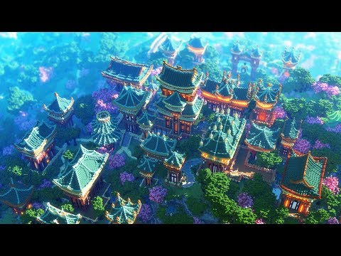 Minecraft Cinematic - XIN TIANTANG: Chinese Utopia City - #Minecraft Map